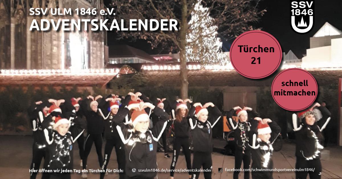 Weihnachtsfeier Ulm.Ssv Ulm 1846 Türchen 21